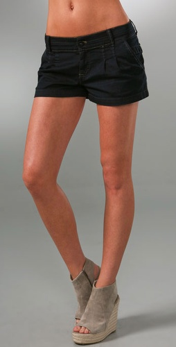 Juicy Couture Denim Trouser Short Shorts