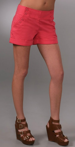 Juicy Couture Sexy Chino Sailor Shorts