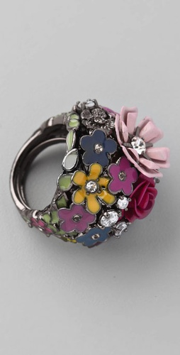 Juicy Couture Garden Cluster Ring