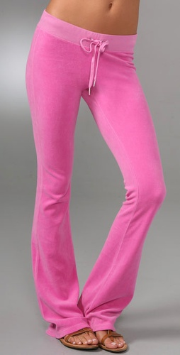 Juicy Couture Velour Flare Pants