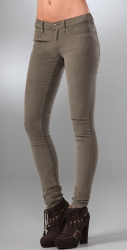 Juicy Couture 5 Pocket Corduroy Leggings