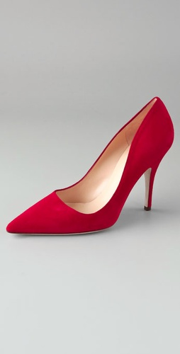 Kate Spade Licorice Suede Pumps