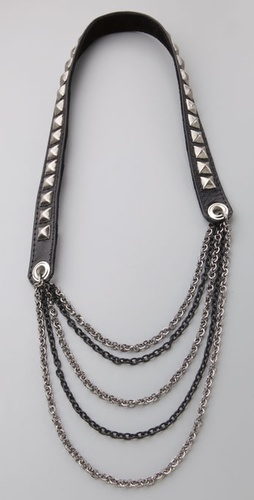 Kettle Black Studded Necklace from shopbop.com