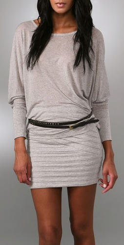 Kettle Black Skinny Double Wrap Belt