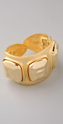 Kenneth Jay Lane Stone Cuff