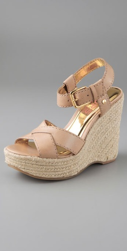 KORS Michael Kors Violet Wedge Sandals