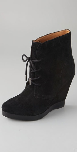 Kors Michael Kors Channing Suede Wedge Bo