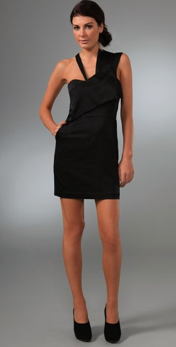 Laila Azhar Asymmetrical Panel Dress