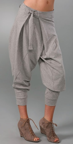 L.A.M.B. Terry Cropped Pants