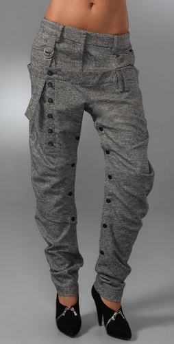L.a.m.b Tweed Harem Pants