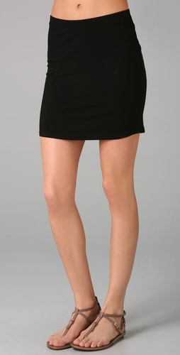 Lanston Ribbed Pencil Skirt
