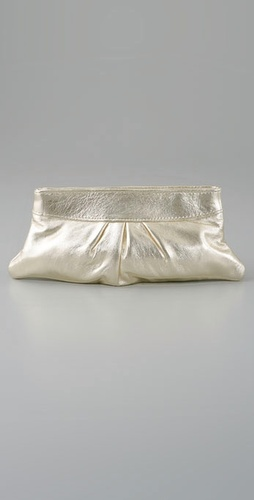 Lauren Merkin Handbags Eve Metallic Clutc
