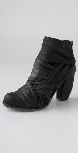 Ld Tuttle The Grid Draped Booties