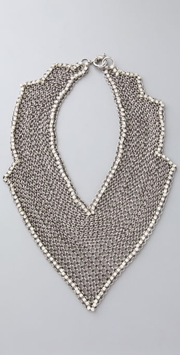 Lee Angel Jewelry Fatima Bib Necklace