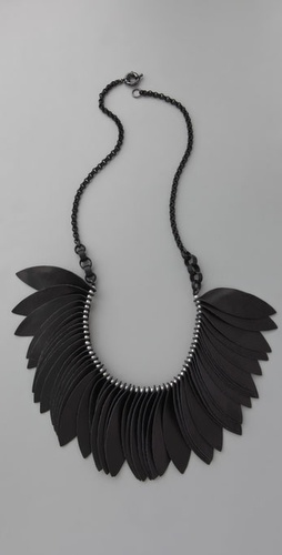 Lee Angel Jewelry Martine Leather Necklac