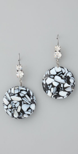 Lee Angel Jewelry Chantal Moon Earrings