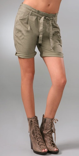 Les Halles Paper Bag Shorts