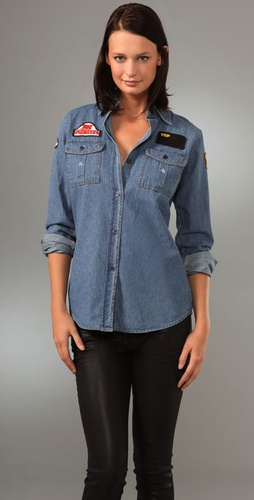 Les Halles The Denim Emblem Shirt