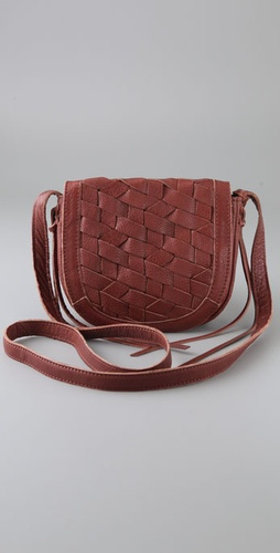 Linea Pelle Perry Woven Mini Cross Body B