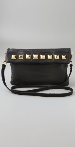Linea Pelle Pyramid Stud Mini Bag
