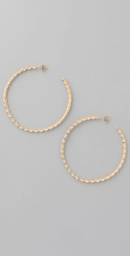 Lisa Stewart Jewelry Twisted Hoops