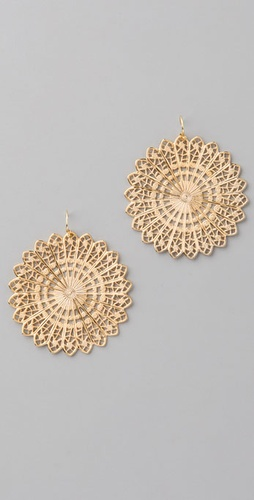 Lisa Stewart Jewelry Fan Earrings
