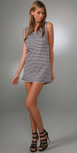 LNA Double Pocket Tank Dress
