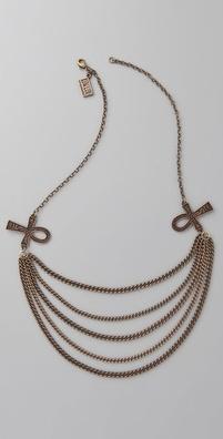 Low Luv x Erin Wasson Ankh Multi Layer Necklace
