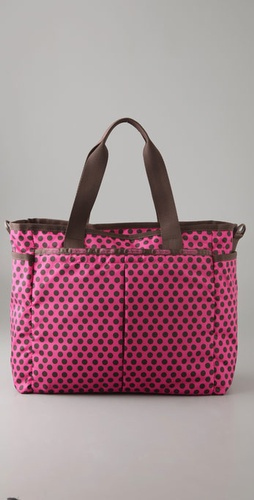 LeSportsac Truffle Dot Ryan Baby Bag