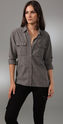 Madewell Campfire Cargo Shirt