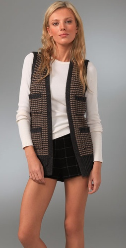 Madewell Striped Sweater Vest