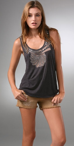 Madewell Swirl & Sway Tank