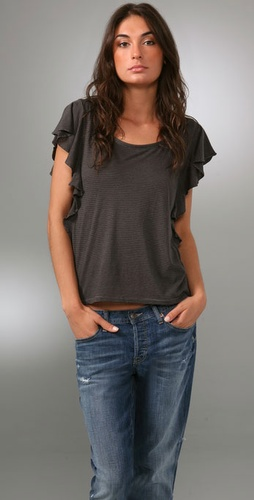 Madewell Flutter Sleeve Tee