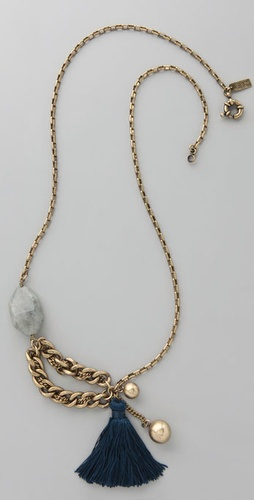 Madewell Thread Tassel Necklace