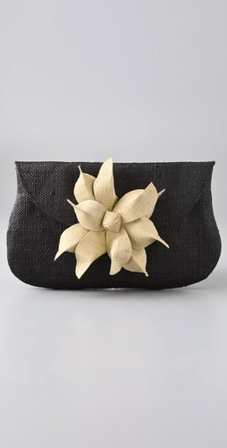 Mar Y Sol Gigi Flower Clutch from shopbop.com