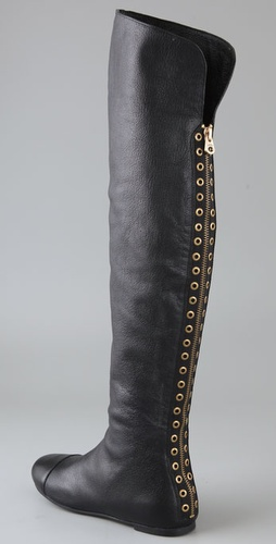 Marc by Marc Jacobs Over the Knee Back Zip Boots