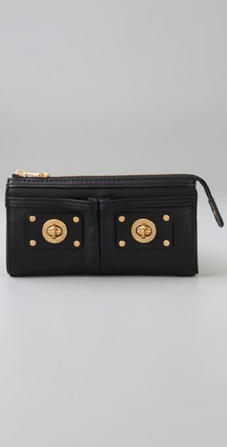 Marc By Marc Jacobs Totally Turnlock Zip