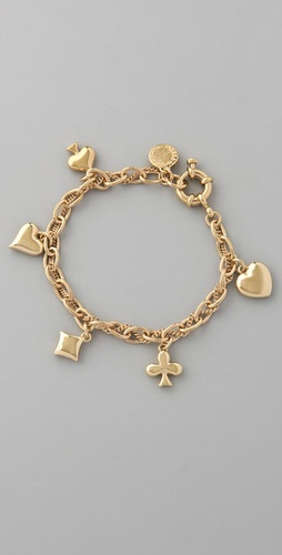 Marc by Marc Jacobs House of Cards Woven Court Cards Bracelet