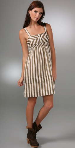 Marc By Marc Jacobs Deco Stripe Dress