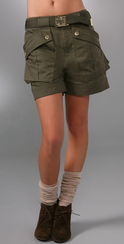 Marc By Marc Jacobs Marlow Twill Shorts