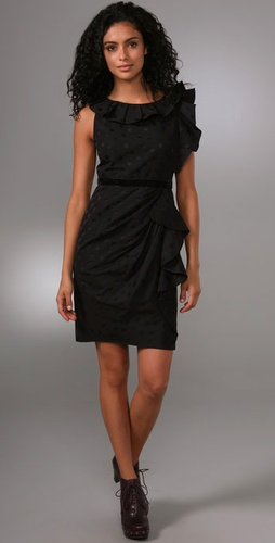 Marc By Marc Jacobs Silk Dot Dress