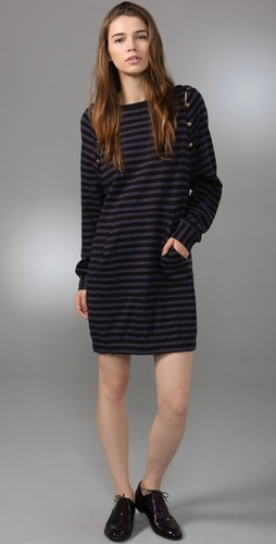 Marc By Marc Jacobs Starboard Stripe Dres