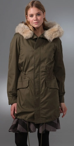 Marc by Marc Jacobs Marley Twill Jacket
