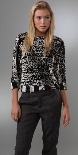 Marc By Marc Jacobs Midge Paillette Sweat