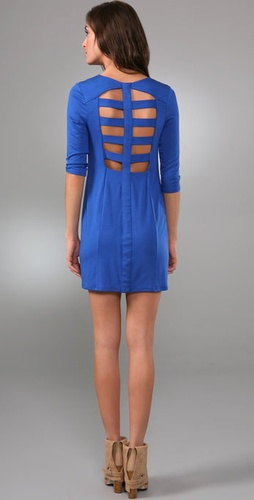 Mason by Michelle Mason Open Spine Dress