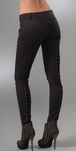 Mason By Michelle Mason Lace Up Pants