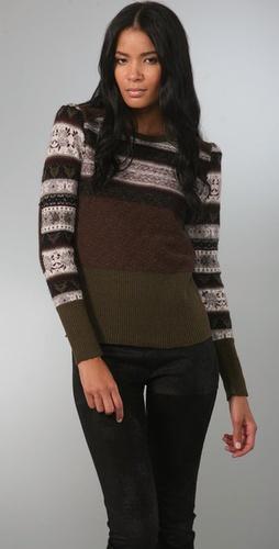 McQ - Alexander McQueen Fair Isle Sweater