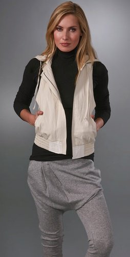 Mike & Chris Oswald Hooded Leather Vest