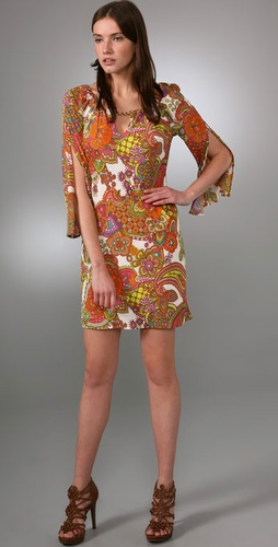 Milly Keyhole Dress