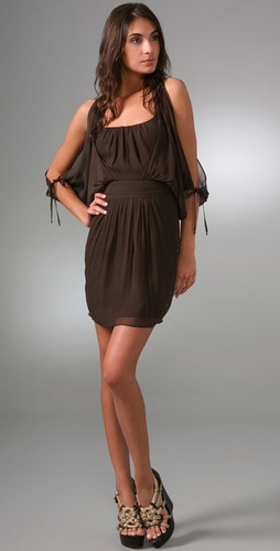 Milly Halter Mini Dress